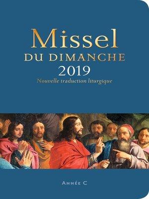 cover image of Missel du dimanche 2019
