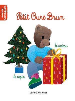 cover image of L'imagier de Noël de Petit Ours Brun