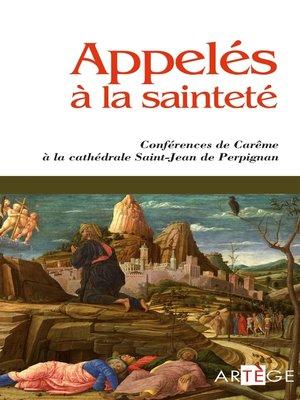 cover image of Appelés à la sainteté