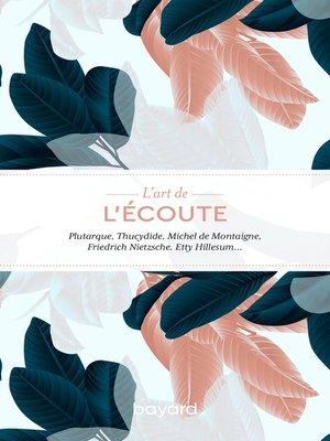 cover image of L'art de l'écoute