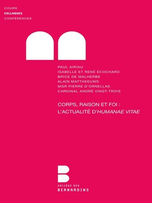 cover image of Corps, Raison et Foi. l'Actualite d'Huma