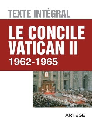 cover image of Le concile Vatican II--Texte intégral