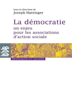 cover image of La démocratie