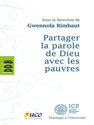 cover image of Partager la parole de Dieu avec les pauvres