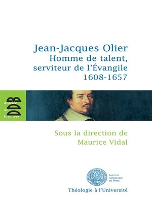 cover image of Jean-Jacques Olier