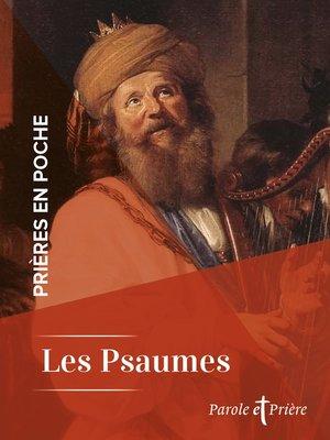 cover image of Prières en poche--Les Psaumes