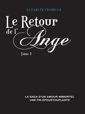 cover image of Le Retour de l'ange 3
