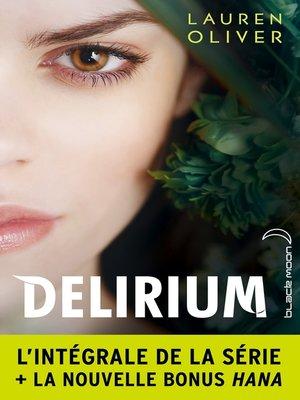 cover image of L'intégrale de la série Delirium