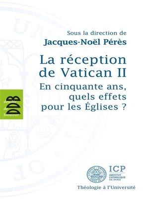 cover image of La réception de Vatican II