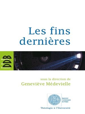 cover image of Les fins dernières