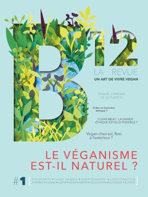 cover image of Revue B12 n°1