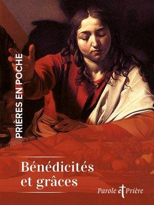 cover image of Prières en poche--Bénédicités et grâces