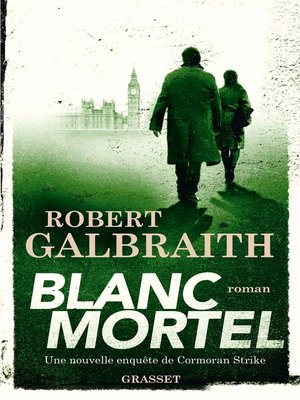 cover image of Blanc Mortel