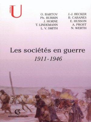 cover image of Les sociétés en guerre