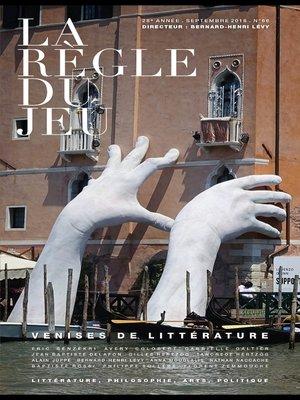 cover image of La règle du jeu n°66