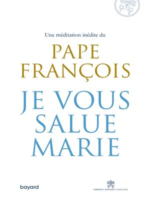 cover image of Je vous salue, Marie
