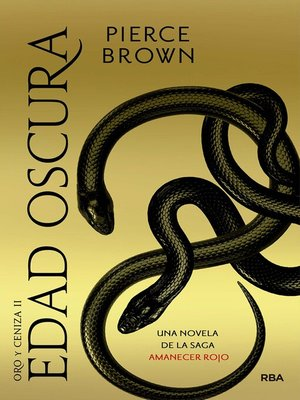 cover image of Edad oscura