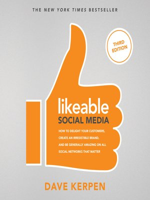 cover image of Likeable Social Media