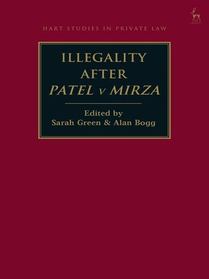 cover image of Illegality after Patel v Mirza