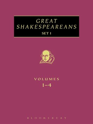 cover image of Great Shakespeareans Set I