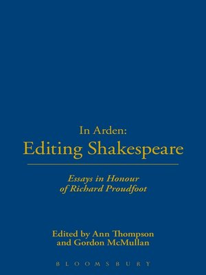 cover image of In Arden