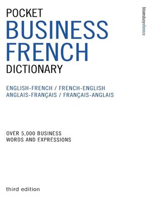 cover image of Pocket Business French Dictionary