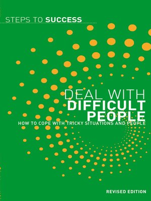 cover image of Deal with Difficult People