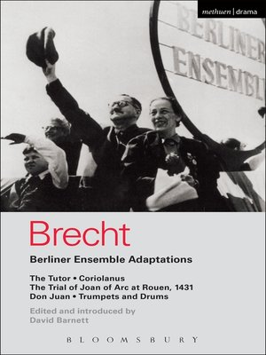 cover image of Berliner Ensemble Adaptations