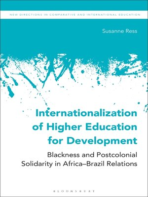 cover image of Internationalization of Higher Education for Development