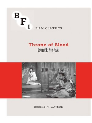 cover image of Throne of Blood