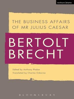 julius caesar biography book pdf