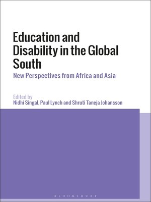 cover image of Education and Disability in the Global South