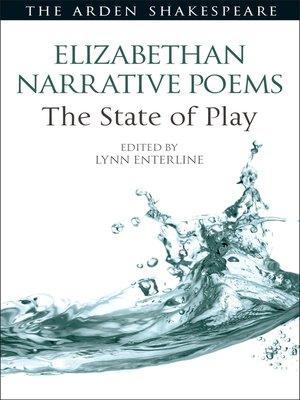 cover image of Elizabethan Narrative Poems
