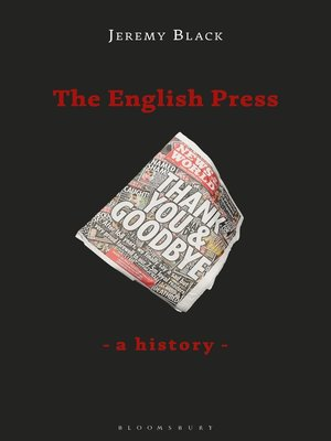 cover image of The English Press