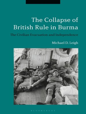 cover image of The Collapse of British Rule in Burma