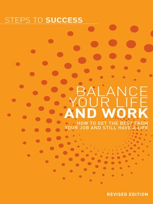 cover image of Balance your Life and Work
