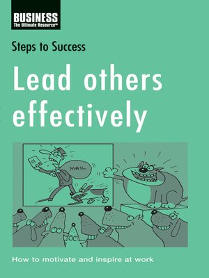 cover image of Lead Others Effectively