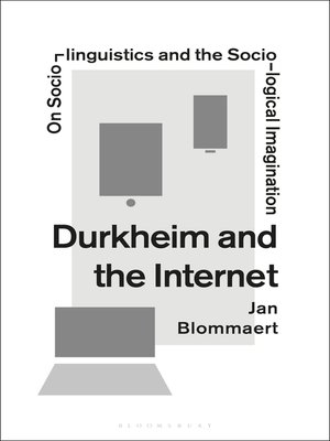 cover image of Durkheim and the Internet