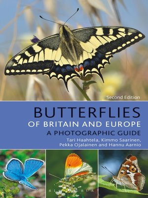 cover image of Butterflies of Britain and Europe