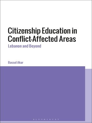 cover image of Citizenship Education in Conflict-Affected Areas