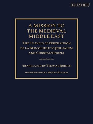 cover image of A Mission to the Medieval Middle East