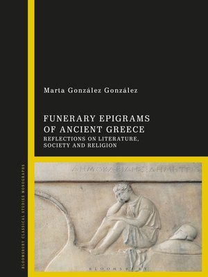 cover image of Funerary Epigrams of Ancient Greece