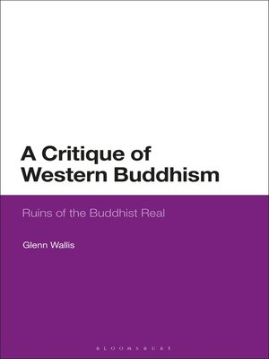 cover image of A Critique of Western Buddhism