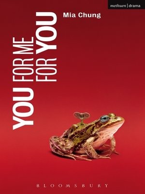 cover image of You For Me For You