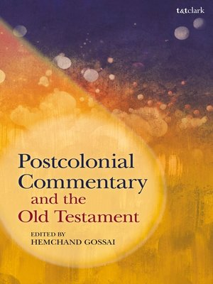 cover image of Postcolonial Commentary and the Old Testament
