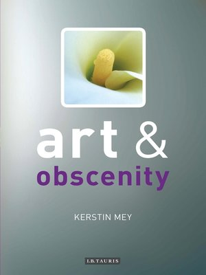cover image of Art and Obscenity