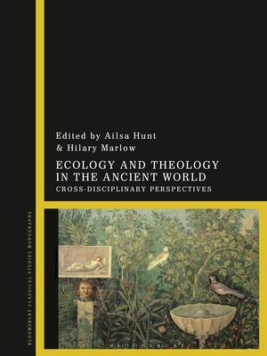 cover image of Ecology and Theology in the Ancient World