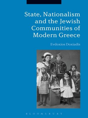 cover image of State, Nationalism, and the Jewish Communities of Modern Greece