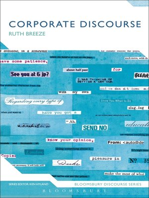 cover image of Corporate Discourse