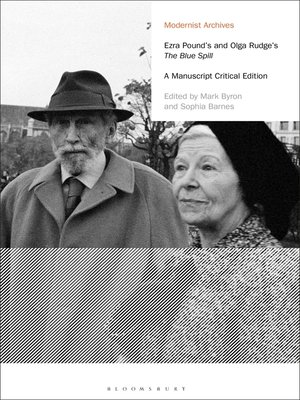 cover image of Ezra Pound's and Olga Rudge's the Blue Spill